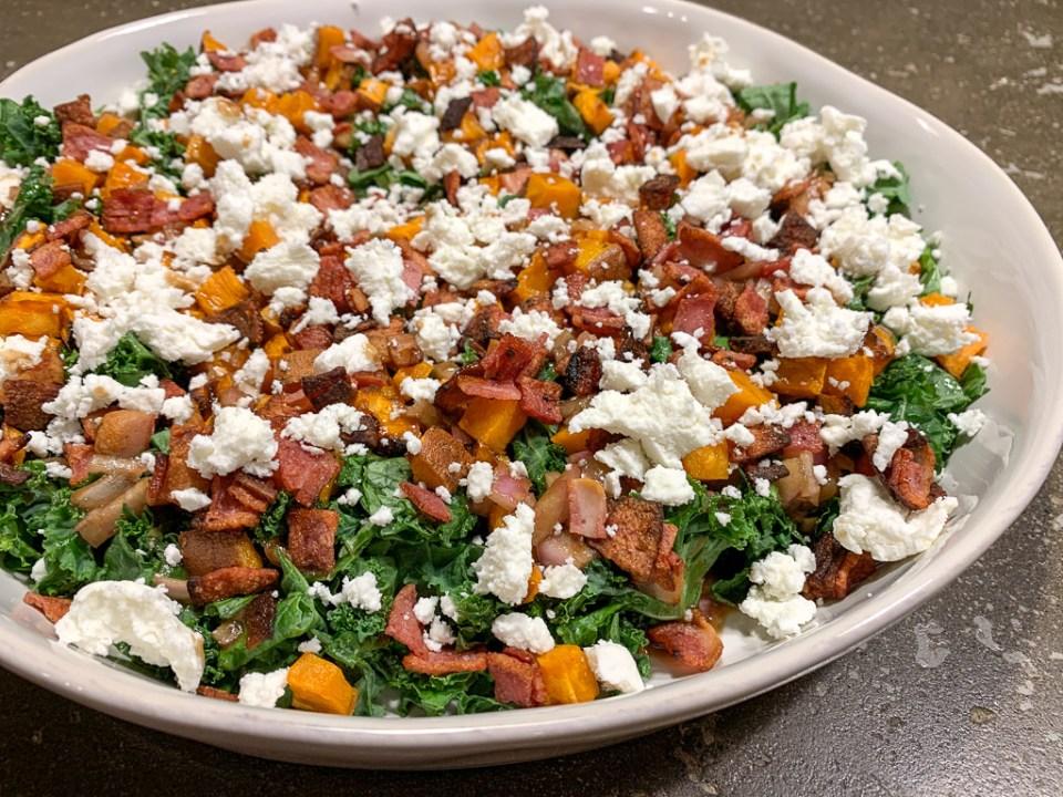 Sweet Potato and Kale Salad: 3ten.ca