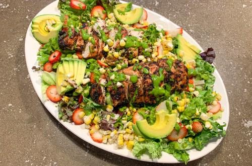 Chipotle Grilled Chicken Salad: 3ten.ca