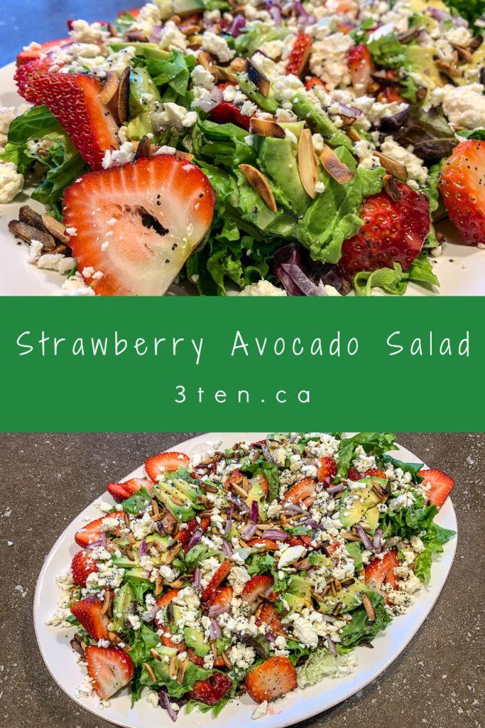 Strawberry Avocado Salad: 3ten.ca