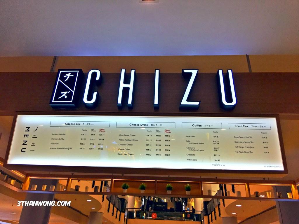 Chizu Drink Japanese Cheese Tea Malaysia