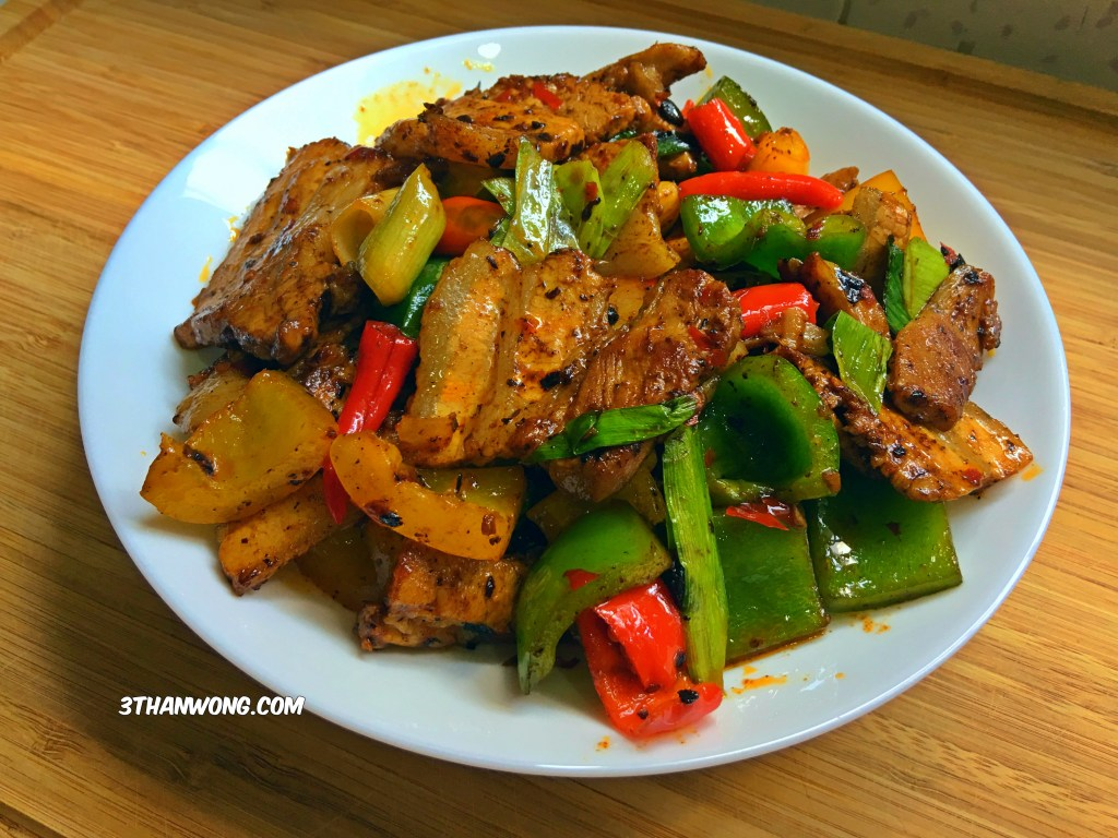 Twice Cooked Pork 回锅肉 - Hui Guo Rou