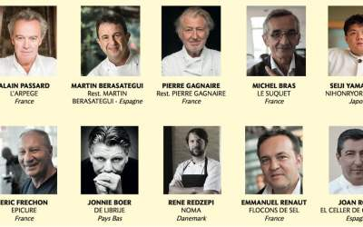 Top 10 Best Chef in the World 2017 (Le Chef)