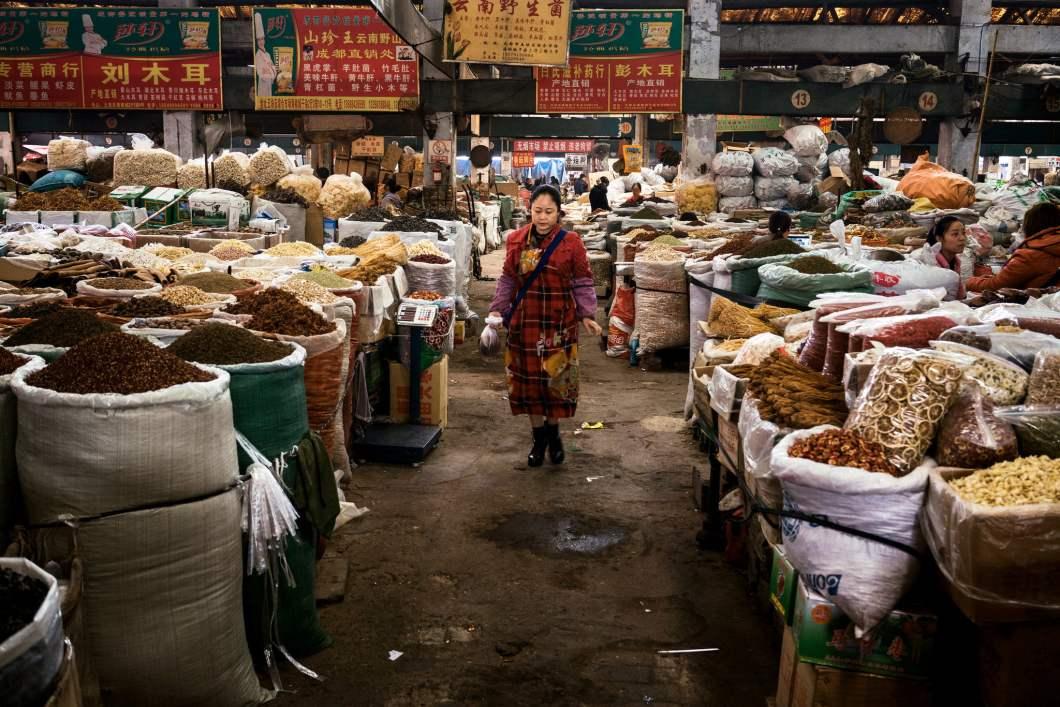 Sichuan spice market