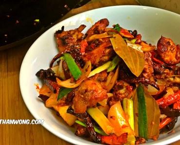 sichuan hot pepper chicken