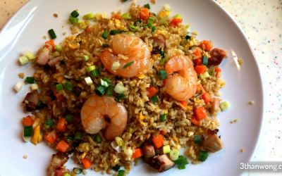 Shrimp Fried Rice Recipe – Two Fried Rice in One!