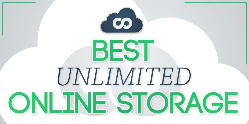 best unlimited online storage
