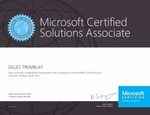 Microsoft Certified Solutions Associate - Windows Server 2012