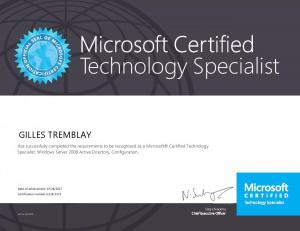 Microsoft Certified Technology Specialist - Windows 2008/2008R2, Active Directory Configuration