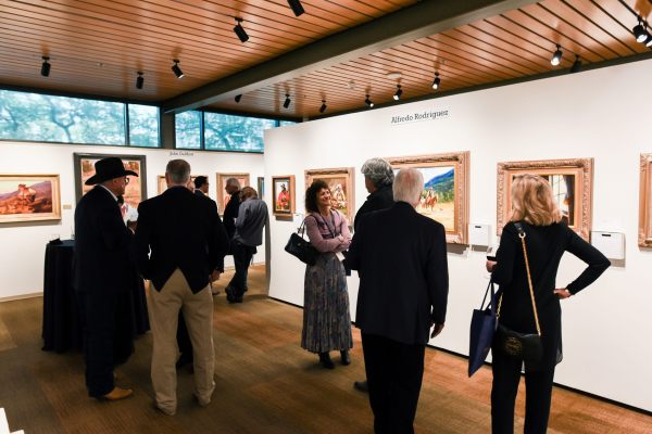 2.4 Million Raised Fine Art Auction Opening