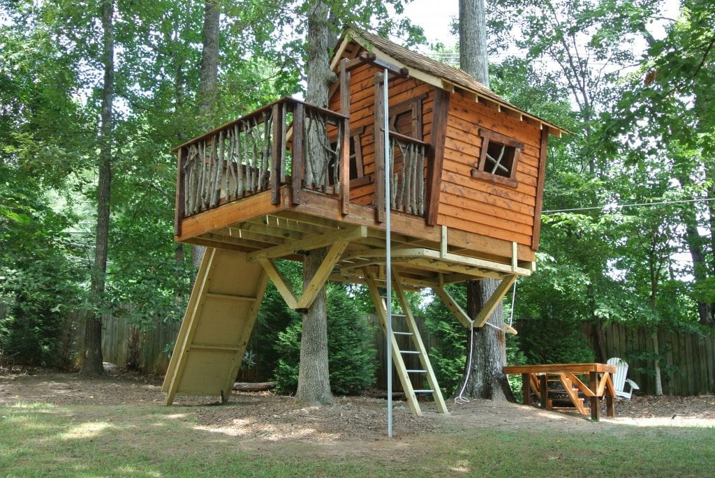 12 Tips For Building A Treehouse With Your Kids Atlanta Parent