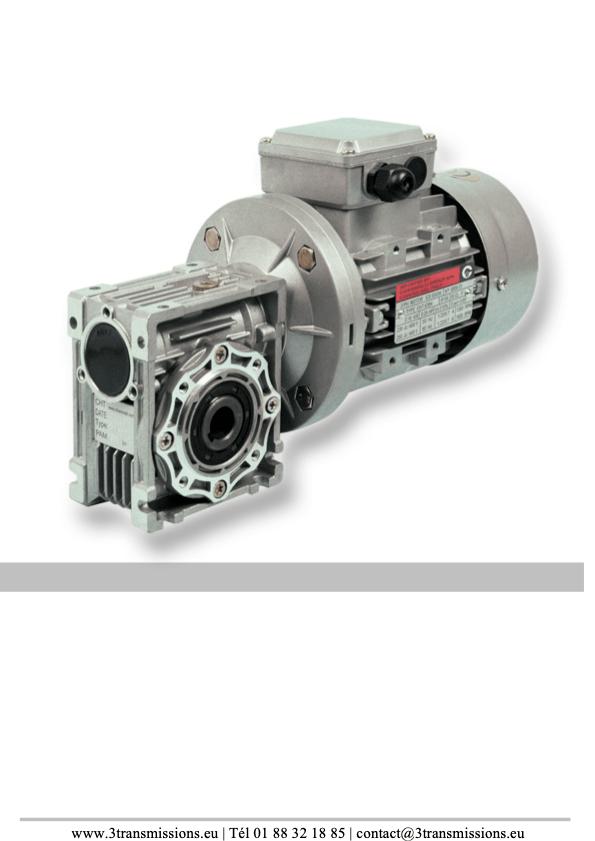 gamme afm reducteur roue v hm