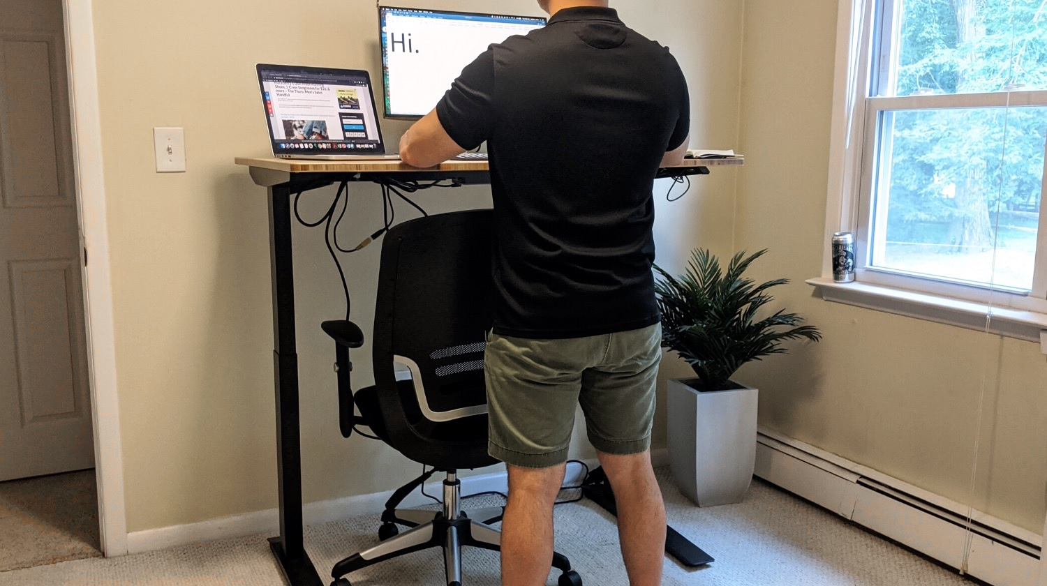 In Review The Jarvis Bamboo Standing Desk By Fully