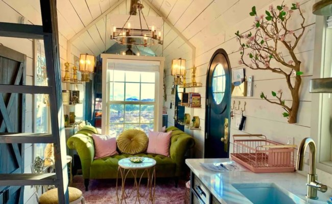 Mother Eve Fairytale Tiny House Stay With Hot Tub Zion