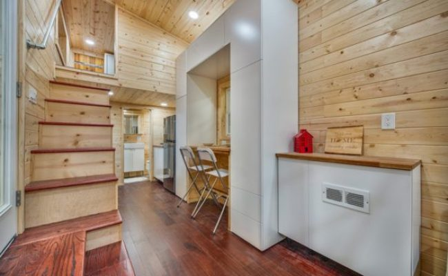 Basecamp Tiny House 204 Sq Ft Thow With Rooftop Deck