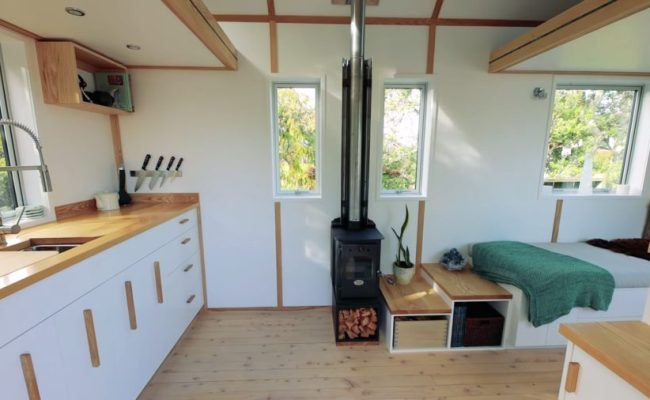 Bryce Langston Reveals His Tiny Home In New Zealand