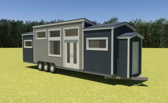 36 Foot Tiny Home You Can Build Using These Affordable