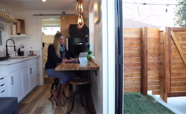 Couple Build 33 Foot Shipping Container Tiny House In