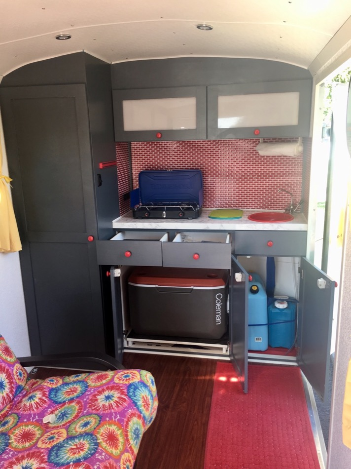 Cargo Trailer Stealth Camper Conversion