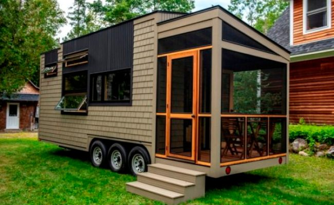 Evergreen Tiny Homes Of Orono Launches First Tiny House