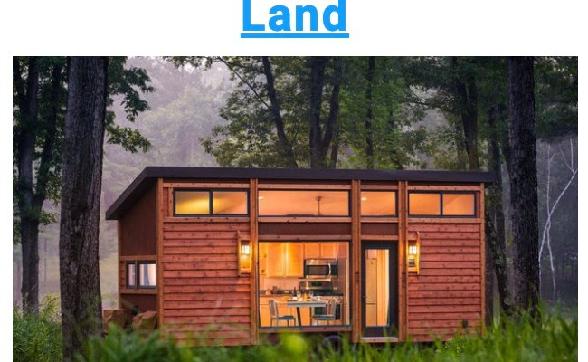 Land And Tiny House Deal 2 Acres 45 Minutes West Of