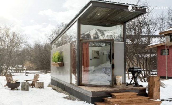 Modern Tiny House Vacation Rental In Jackson Hole Wyoming