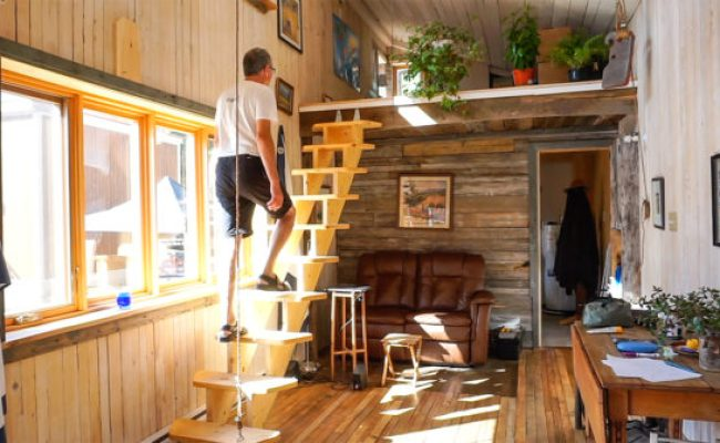 Spacious Open Concept Tiny House Parked In A Legal