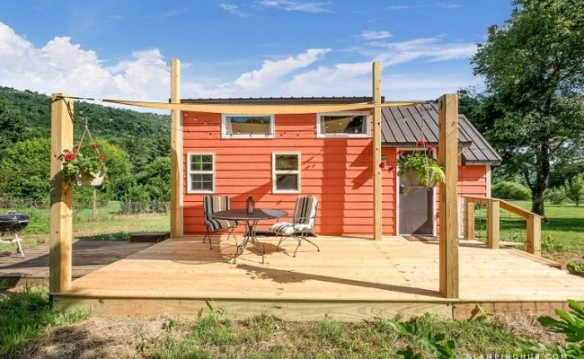 Gorgeous Tiny House For A Romantic Getaway Near
