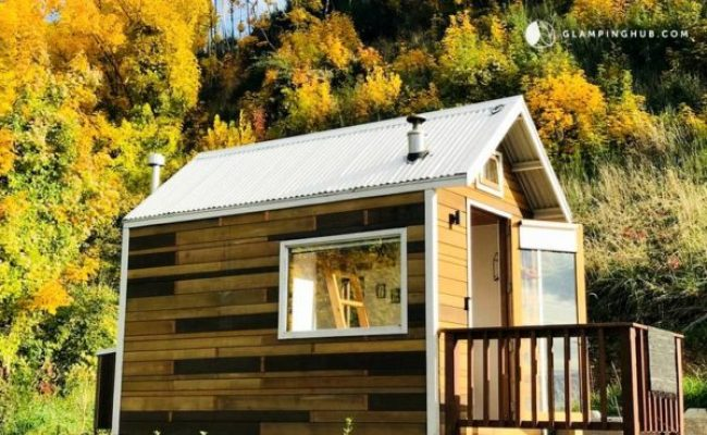 Tiny House Nz Lake View Thow Vacation In Queenstown New