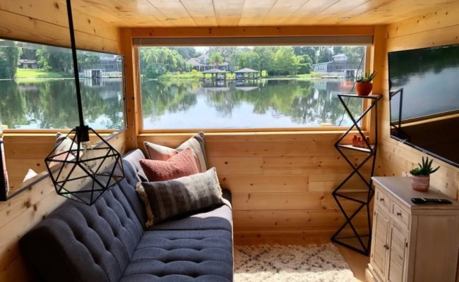 The View Waterfront Tiny House In Orlando Airbnb