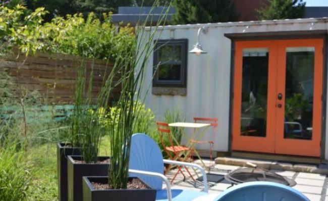 Tiny Shipping Container Vacation In Atlanta