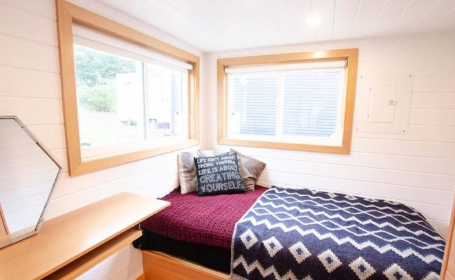 Tiny House With Ground Floor Bedroom And Large Kitchen