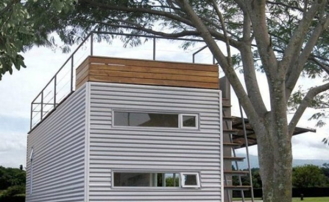 Casa Cúbica S 160 Sq Ft Shipping Container Tiny Home