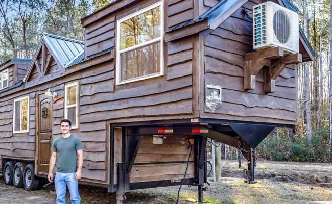 Built His First Tiny House At 16 Now He S A Builder