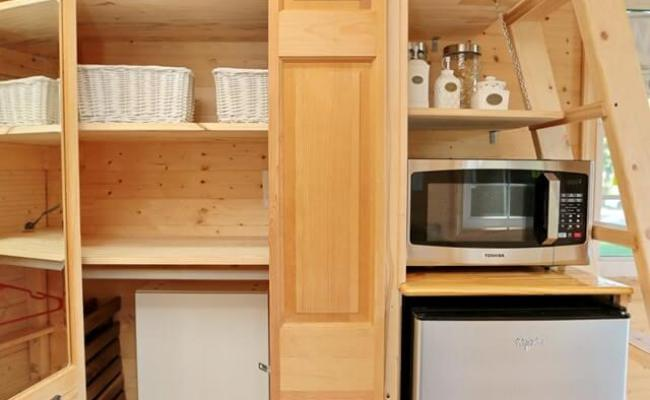 16ft Tiny House Built Using Tiny Living Plans For Sale