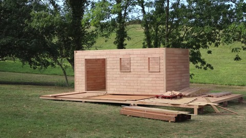Brikawood Studio Kit Build A House with Wooden Bricks