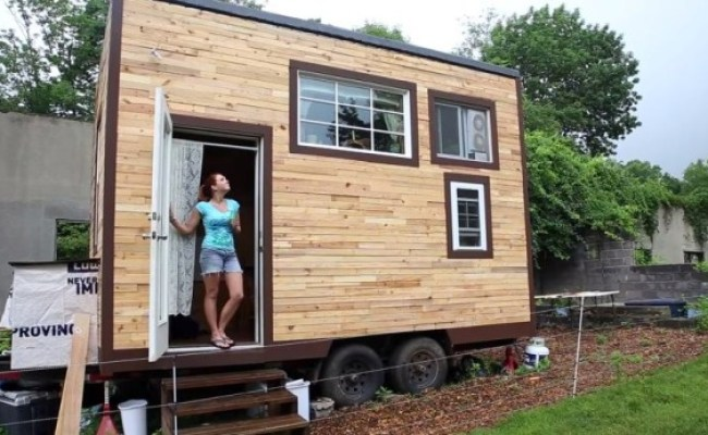 Couple Build Mortgage Free 129 Sq Ft Tiny Home