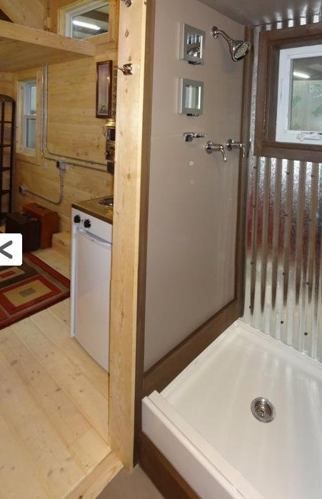 Tiny House Shower Salsa Box Tiny House Plans PADtinyhousescom 17