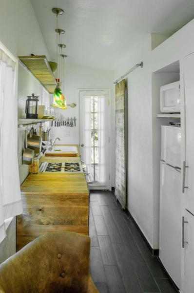 tiny victorian house kitchen