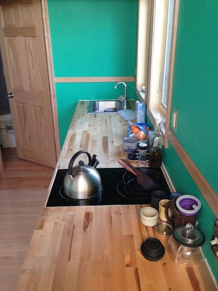 tiny house one wall kitchen