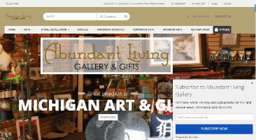 abundant-living-gallery-detroit-web-design