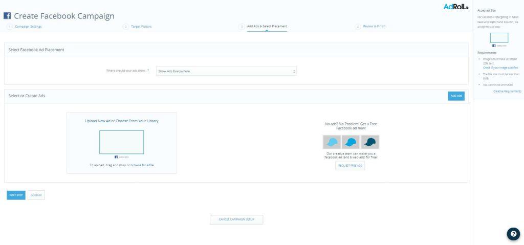 create-facebook-campaign-screen3
