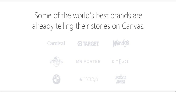 Facebook Canvas as a Website, Landing Page and Sales Automation