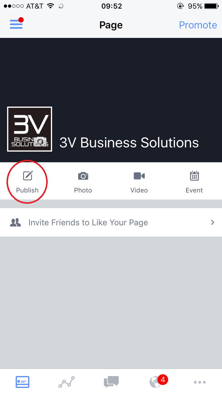 Detroit Live Video Company- Business Profile, Publishing a Live Video