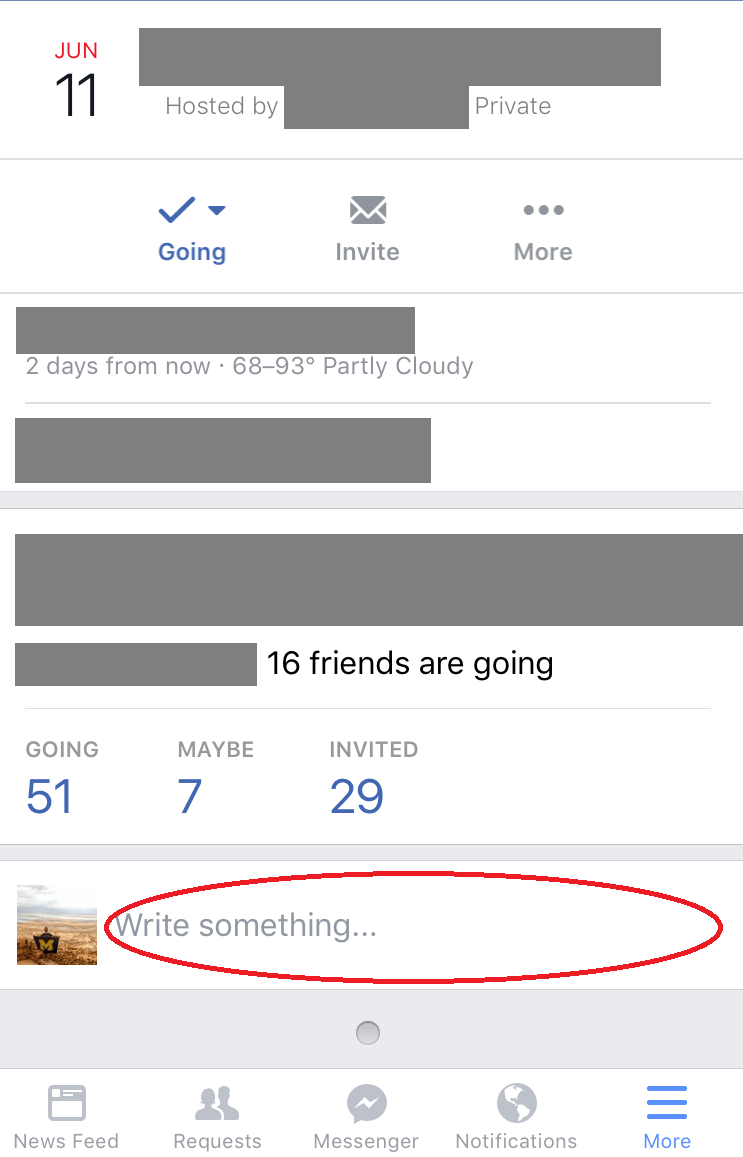 Detroit Facebook Live Video Company- Event Posting