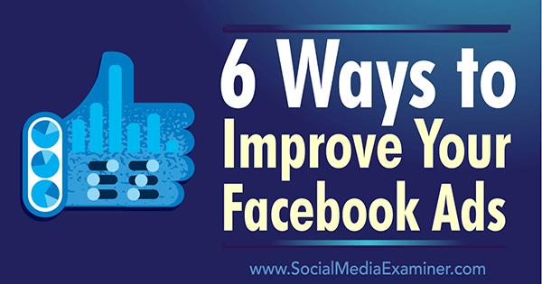 How to interpret Facebook Ad data