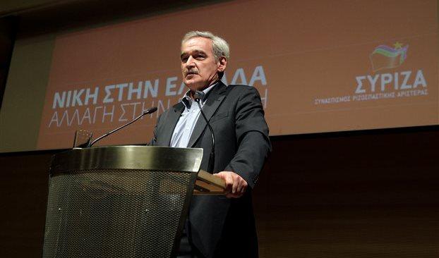 Ο Νίκος Χουντής στη Βούλα την Τετάρτη