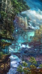 iphone fantasy landscape landscapes wallpapers anime hd isabelle hansmann wallpapers2008 3wallpapers 6s pro places artwork max designs recommended larissa illustration