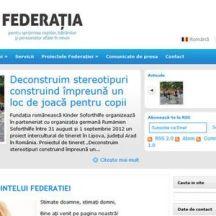 Site pe wordpress pentru ONG, site de prezentare