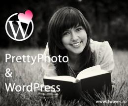 Instalarea codului PrettyPhoto