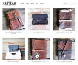 Artizan.eu – prezentare de produse artizanale pe WordPress